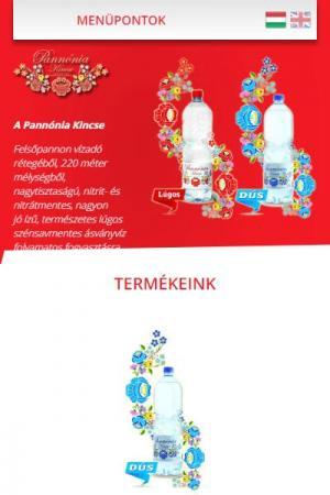 Pannónia Kincse Ásványvíz | TGweb.hu