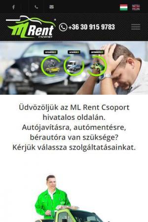 ML Rent Autóbérlés Debrecen | TGweb.hu