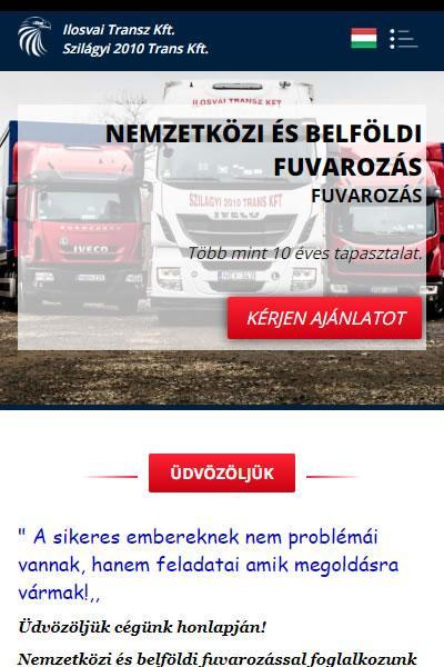 Ilosvai Transz Kft. - Fuvarszervezés | TGweb.hu