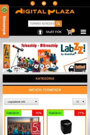 DigitalPlaza - Online áruház | TGweb.hu