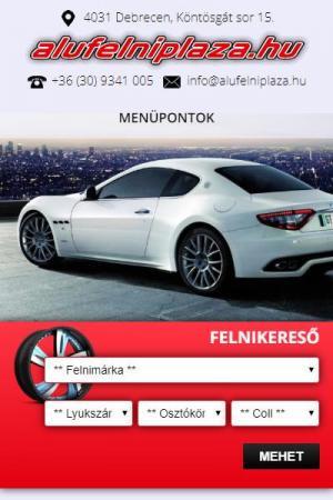 AlufelniPlaza - Alufelni áruház | TGweb.hu