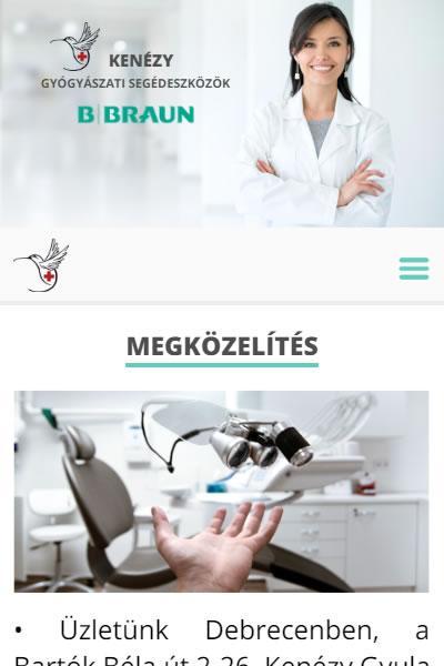Kenézy GYSE - Gyógyászati segédeszközök | TGweb.hu