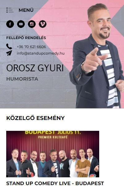 Orosz Gyuri | TGweb.hu