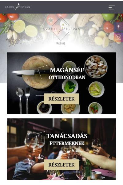 Szabó István - MagánSéf | TGweb.hu